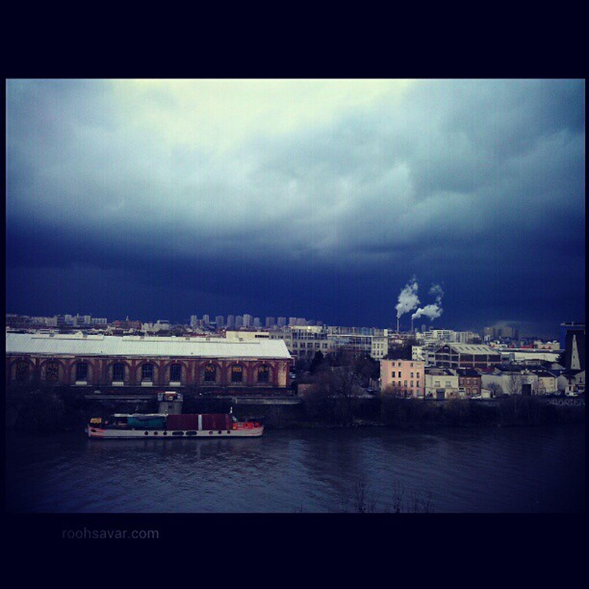 شما برف داشتین ما نداشتیم/ ما رود داشتیم شما نداشتین ;-) Paris