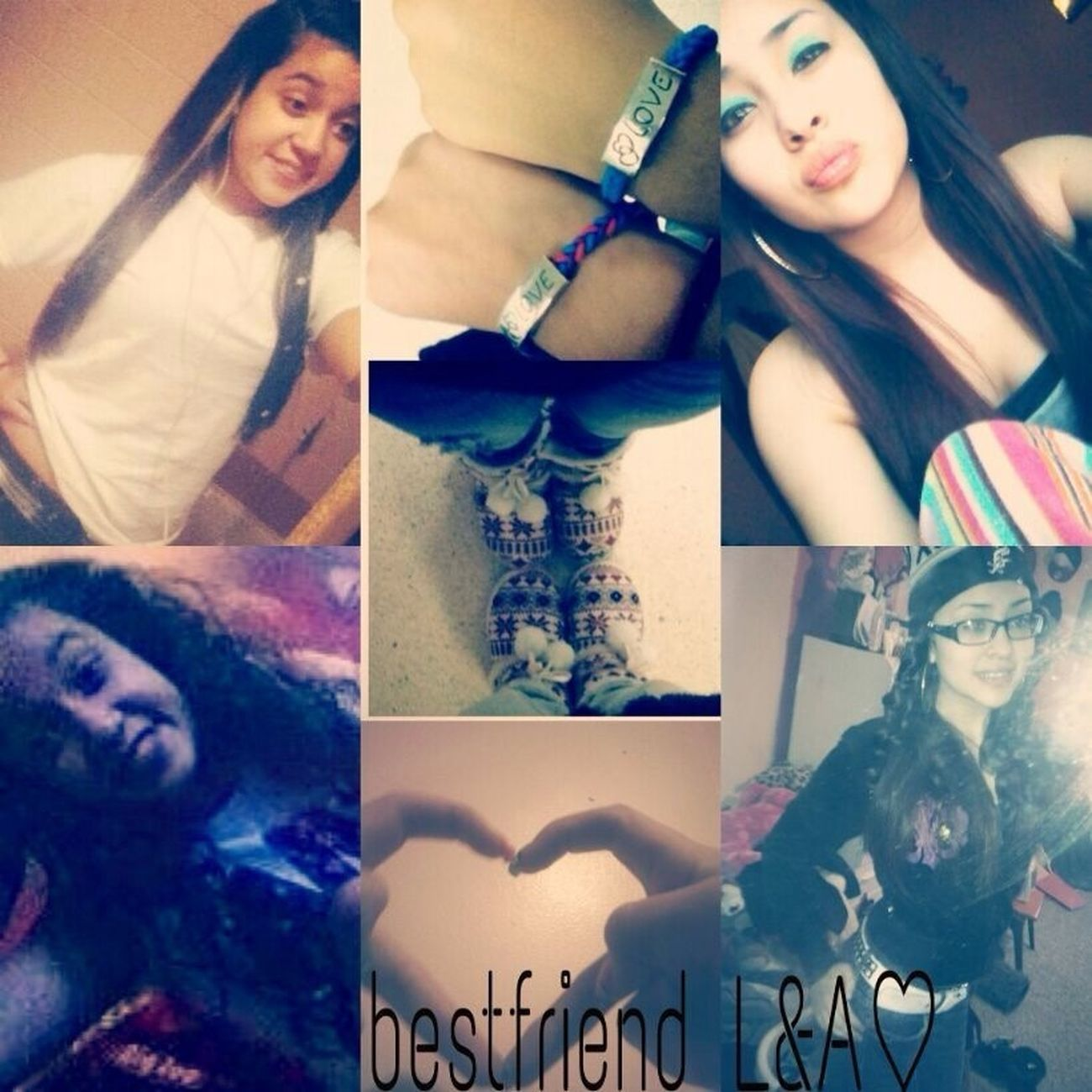 Me & My BESTfriend . I Love Her , She's My Other Half & Sister   . A & L  . Follow Us On Instagram @Ashleey_Virginia & @_Lightitup15_