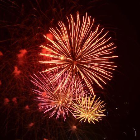 watching fireworks fireworks 花火 花火大会 夜