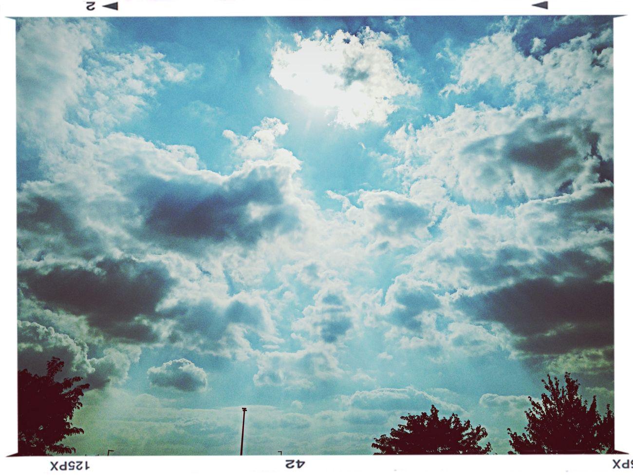 Beautiful sky today. First Eyeem Photo