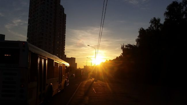 Sunset Moscow