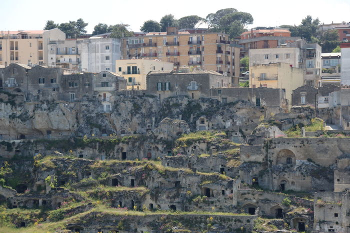 Sassi di Matera, Matera caves dwellings Matera Matera - Capitale Della Cultura Matera Italy Matera Caves Matera Street Photography Architecture Building Exterior Built Structure Cave Day Dwellings Nature No People Outdoors Sassi Di Matera Travel Destinations Tree