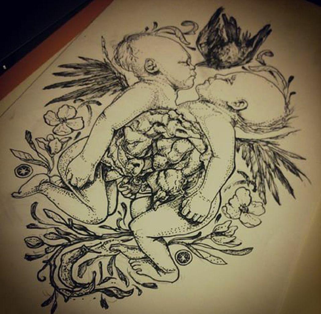 Check This Out Art ArtWork Art, Drawing, Creativity Art And Craft Artist Artbyme Baby Baby Photography Matitabiancoenero Matita Iloveart