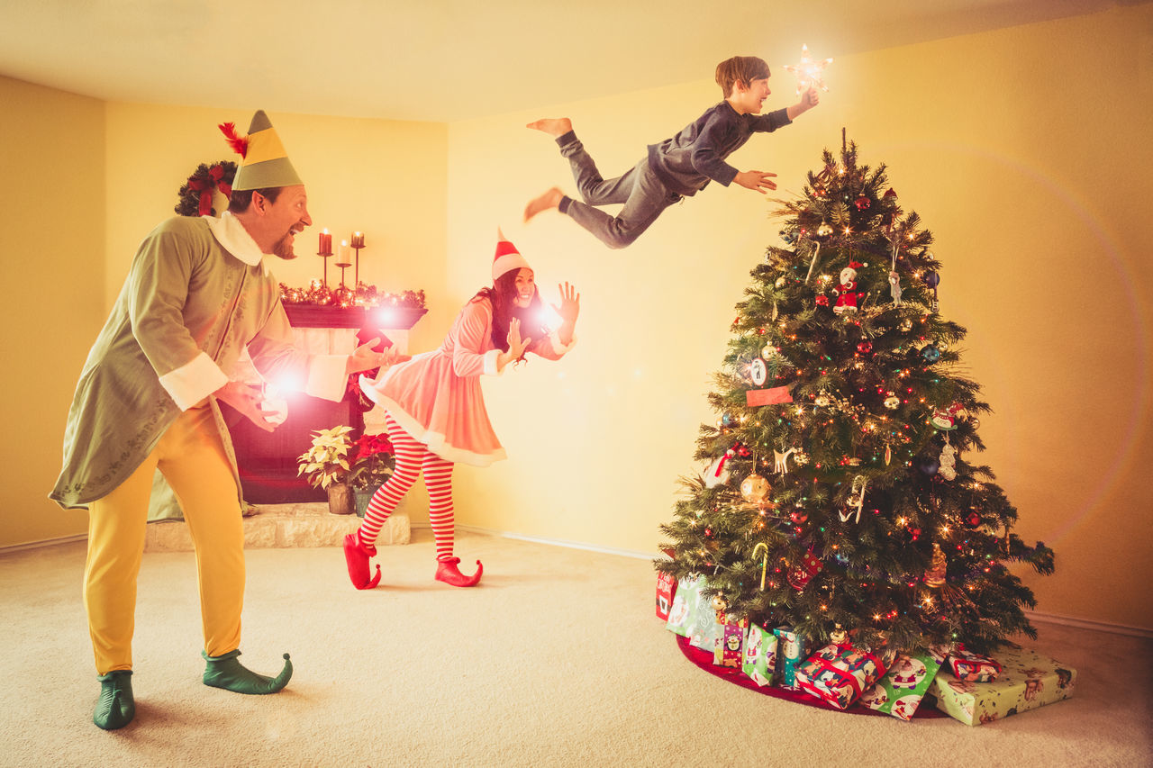 magic lives on in the world for as long as we choose to believe in it and keep making it happen for those whom we love. Believe Celebrate Celebration Child Christmas Decorations Elf Elves Family Fantasy Float Fun Happy Holiday Levitate Magic Magical Making Memories Seasonal Star Together Tradition Tree