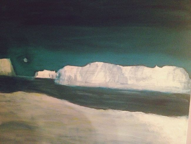 My Painting Icebergs Artic