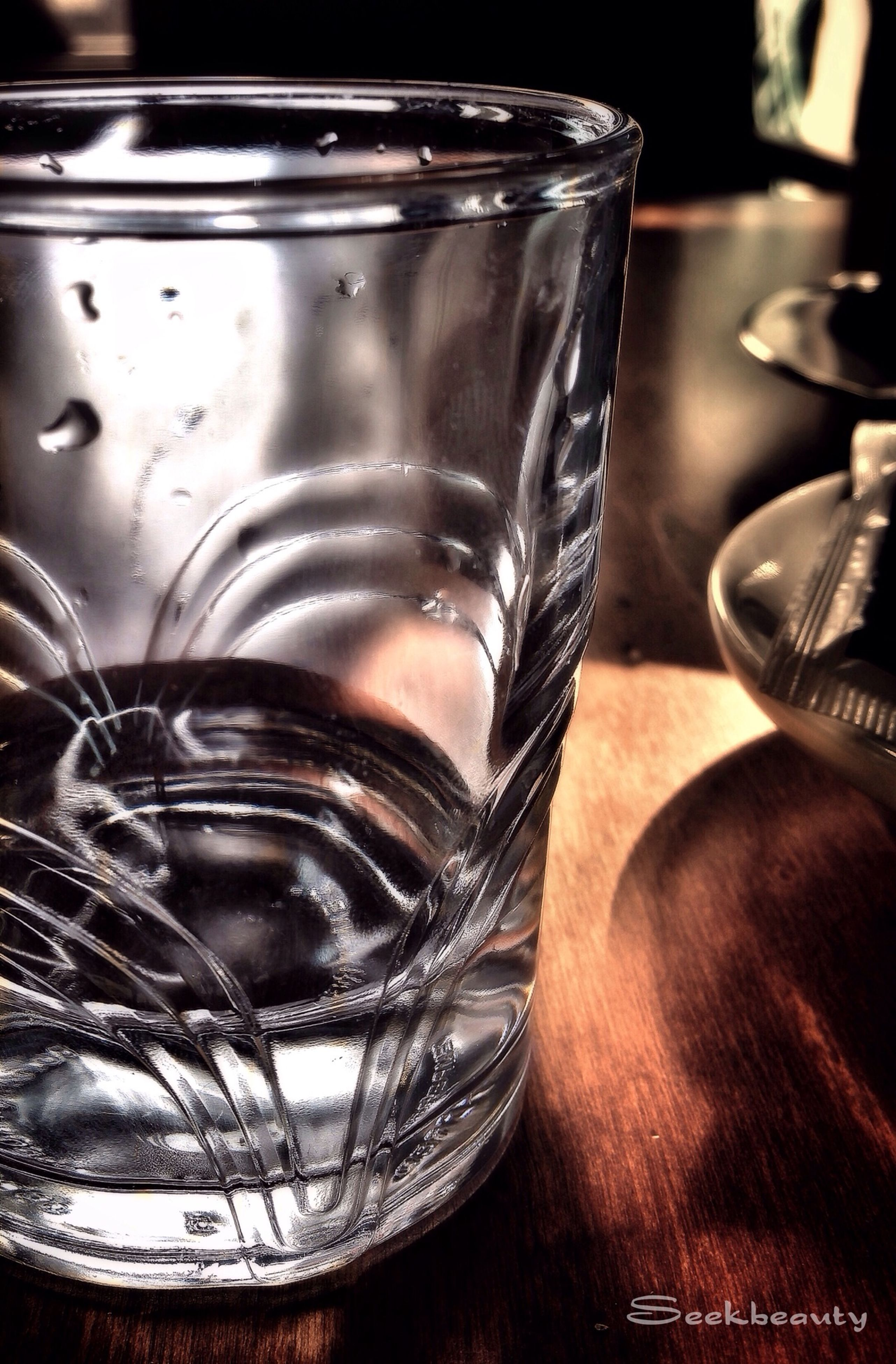 indoors, table, still life, drinking glass, glass - material, food and drink, drink, close-up, refreshment, transparent, wineglass, glass, jar, freshness, bottle, alcohol, no people, focus on foreground, fork, high angle view