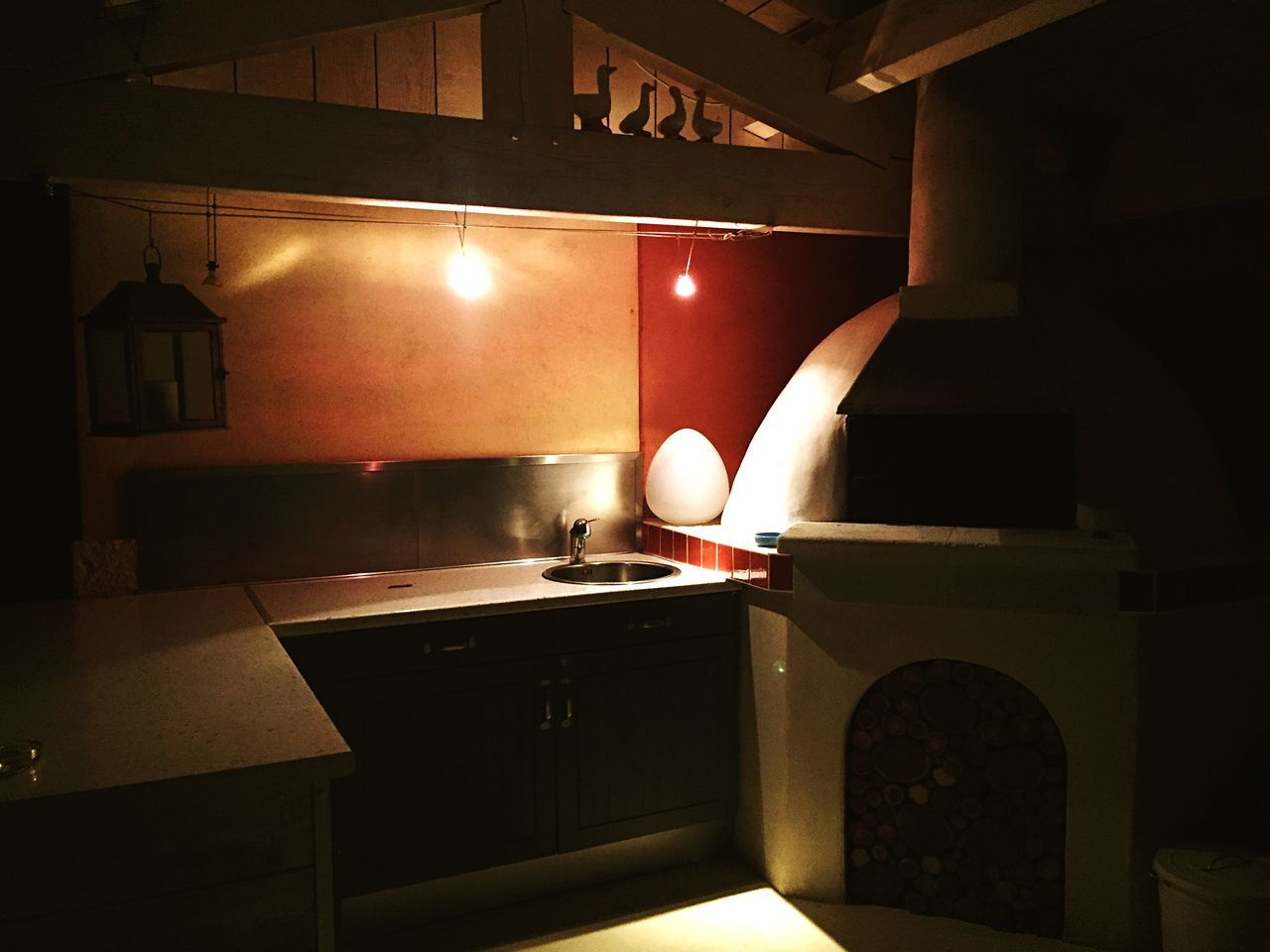 Cuisine extérieur- Kitchen Pizza Kitchen Outside Outside Oven Pizza Oven Photography Ambiance Overnight Night Nightphotography Night Lights Light Frams Duck Atmosphere Relax Atmospheric Mood My Favorite Place
