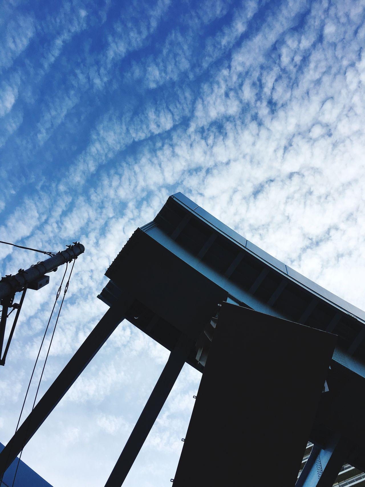 Yurikamome Toyosu Bridge Trein Sky Tokyo,Japan