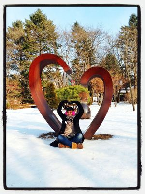 Love at Winter Sonata First Kiss by cumicumicumi