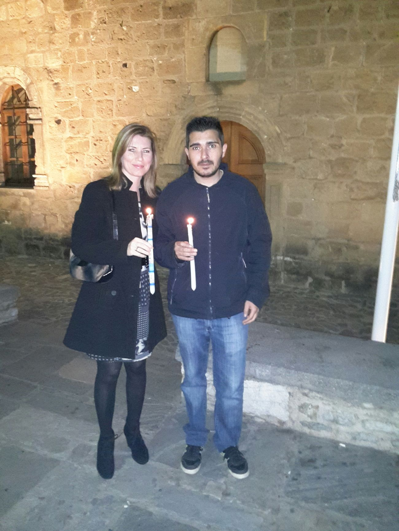 Easter Kalamata Friends Praising The Lord Light Greece