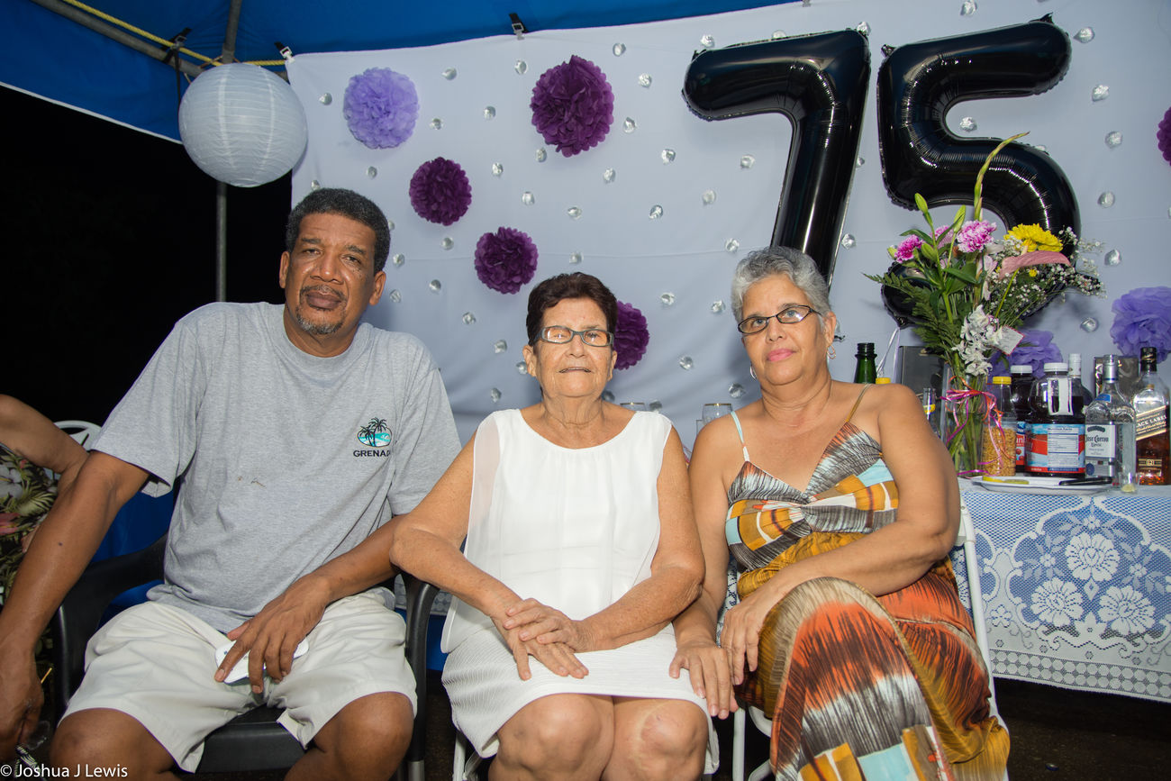 Togetherness Happiness Casual Clothing Smiling Husband And Wife Celebration Looking At Camera Beautiful People Stillife Birthdayparty Laughing Caribbean Family Time Trinidad And Tobago Beautiful FamilyTime Love Party - Social Event