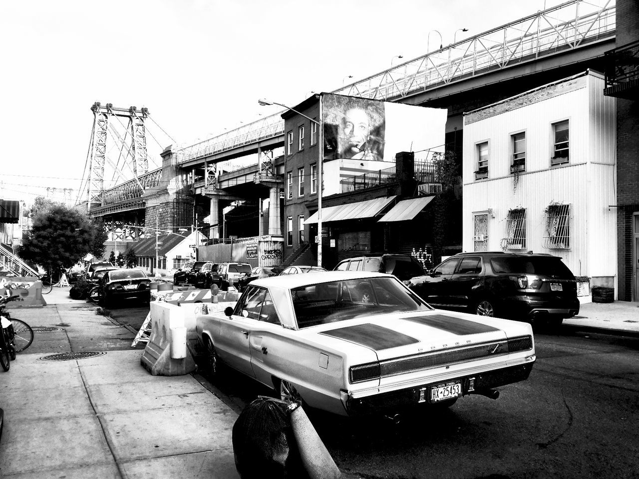 Streetscape Dodge Muscle Cars Brooklyn Williamsburg Walking Around NYC Newyorkcity Cars Streetphotography B&w Street Photography EyeEm Best Shots EyeEm Best Edits Monochrome Everydayusa Black & White Blackandwhite My Best Photo 2015 EyeEmBestPics Travel Photography Light And Shadow Embrace Urban Life Black And White Blackandwhite Photography Exploring New Ground Adapted To The City Welcome To Black