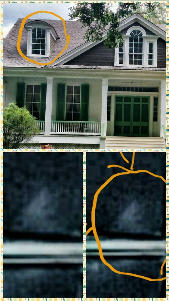 Ghost Hunting Ghost Face GHOST GIRL Taking Photos Check This Out Hello World Haunted Plantations Mississippi  Captured On Photo Travelphotography