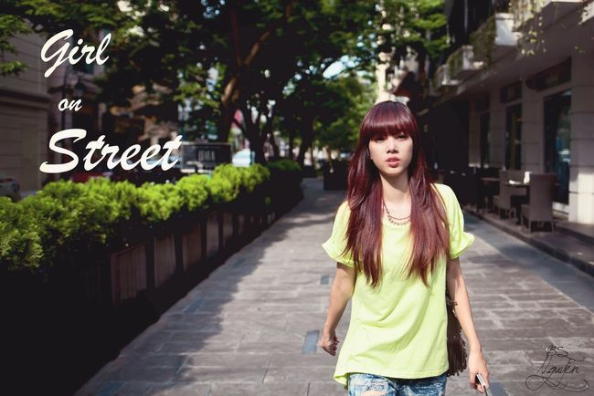 That's Me Beautiful Hanoi Model Girl On Street ✨?❤️???????