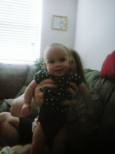 this is my greatgranddaughter