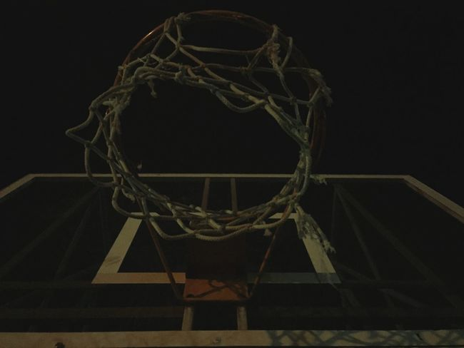Where everything begun.. Basketball Basket Lovethisgame Playground Home my Place Net Rims Underground Memories