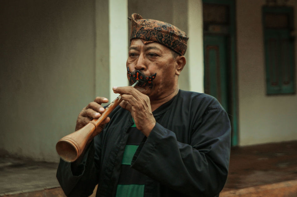 Madura Island-Indonesia Traditional Indonesia Culture Cultures Culture And Tradition Heritage Cultural Heritage Human Saronen Music Musical Musical Instrument Traditional Musical Instrument