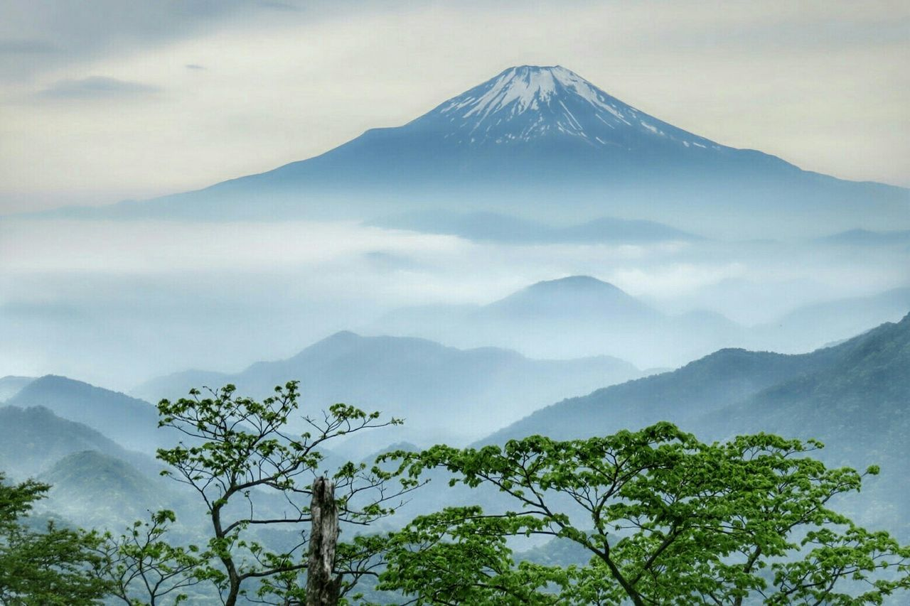Mountain Scape Mt.Fuji Mountains Cloudporn Cloud Love TreePorn EyeEm Nature Lover Hdr Edit Market Bestsellers May 2016 Bestsellers