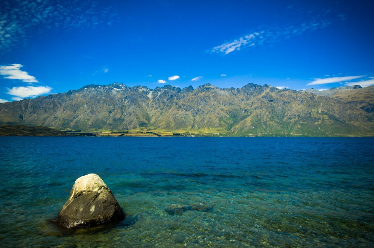 Lake The Great Outdoors - 2016 EyeEm Awards The Great Outdoors - 2017 EyeEm Awards Mountain View EyeEm Best Shots - Landscape Landscape_photography Queenstown The Remarkables Mountain Range New Zealand Landscape_Collection Mountains And Sky Mountains Summer Summer Views Blue Wave Summer Memories 🌄 Clean Fresh And Clean Tourism Tourist Destination Landscapes With WhiteWall The Great Outdoors With Adobe The Essence Of Summer Place Of Heart