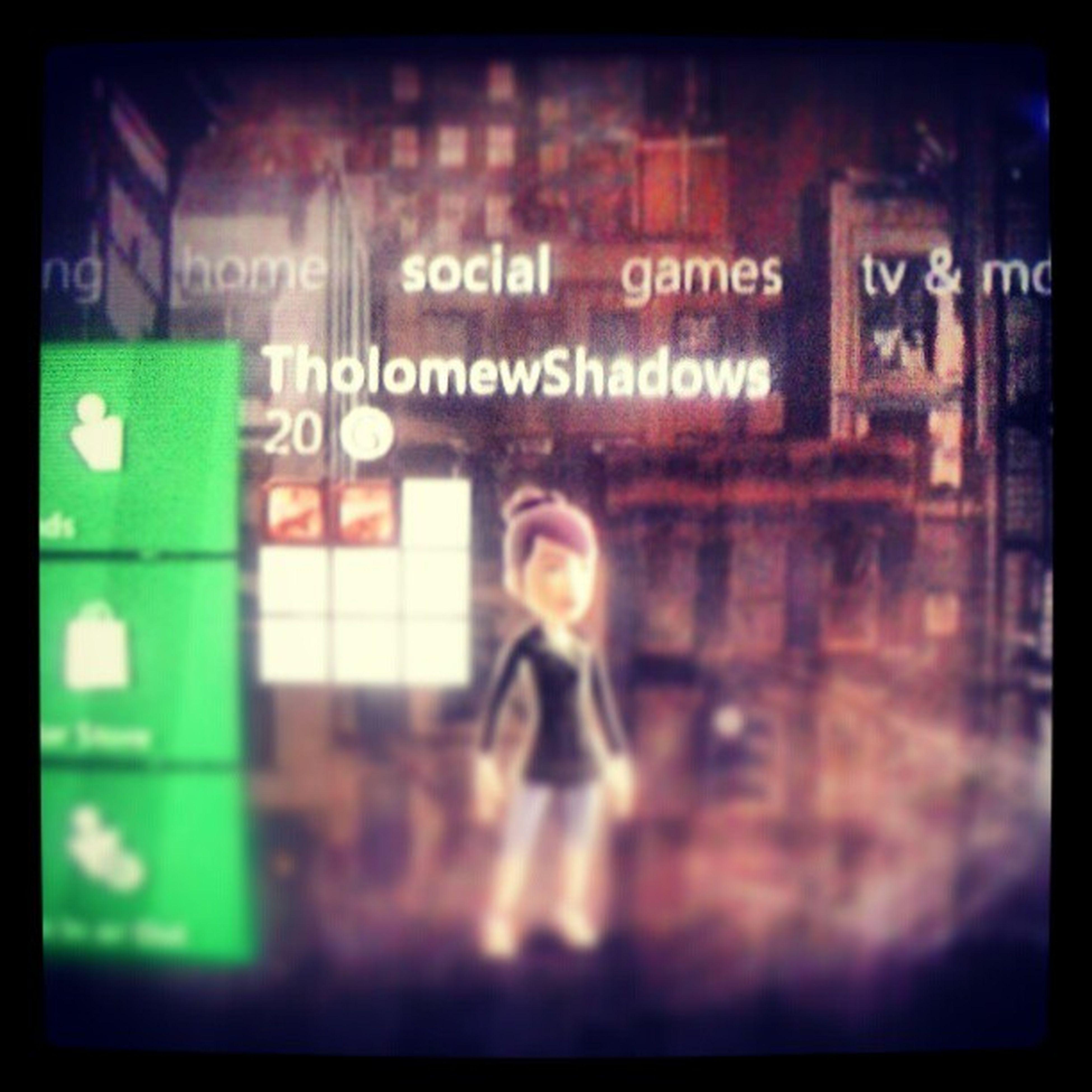 @joshhasrabies Let's play some Xbox!! :P TholomewShadows :D