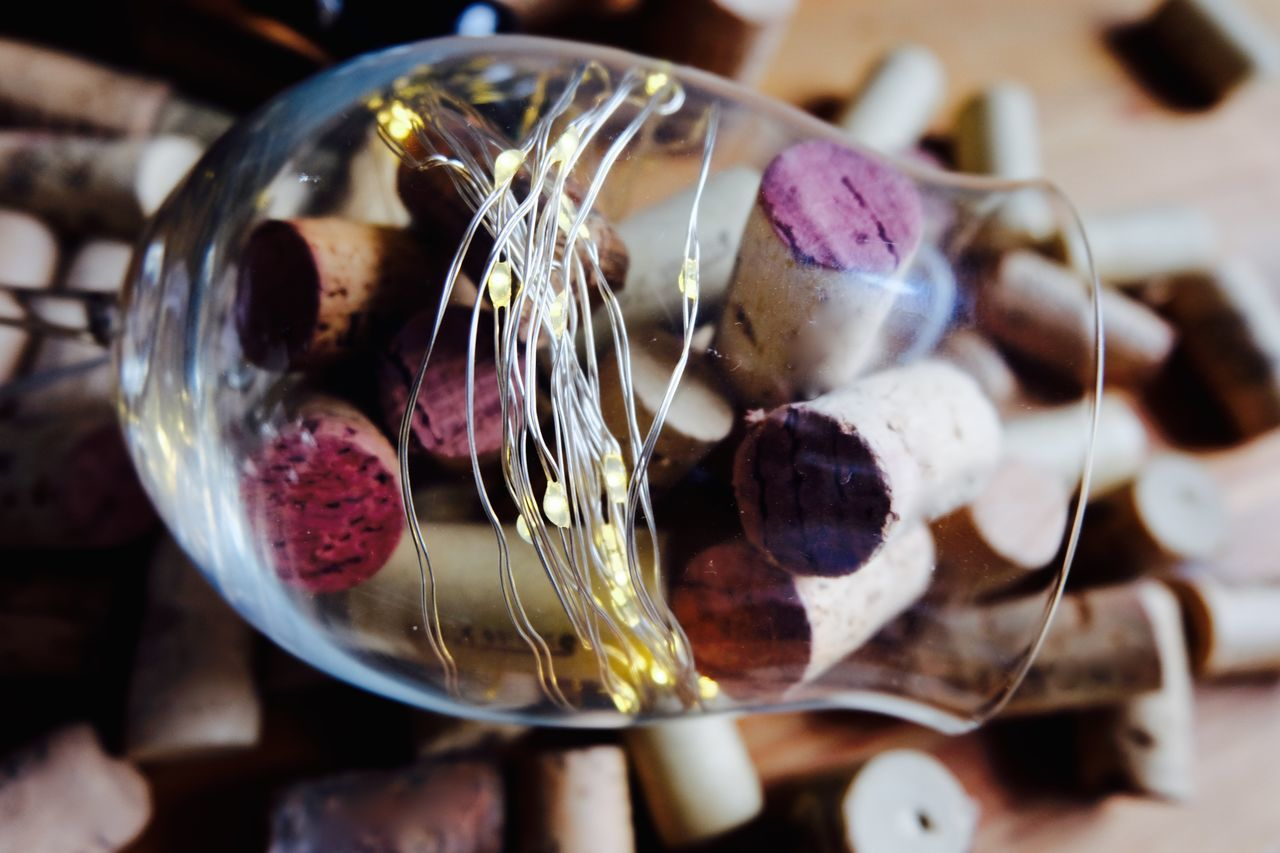 Close-up Eye4photography  Indoors  No People Taking Photos Wine Cork Wine Glass Wine Moments