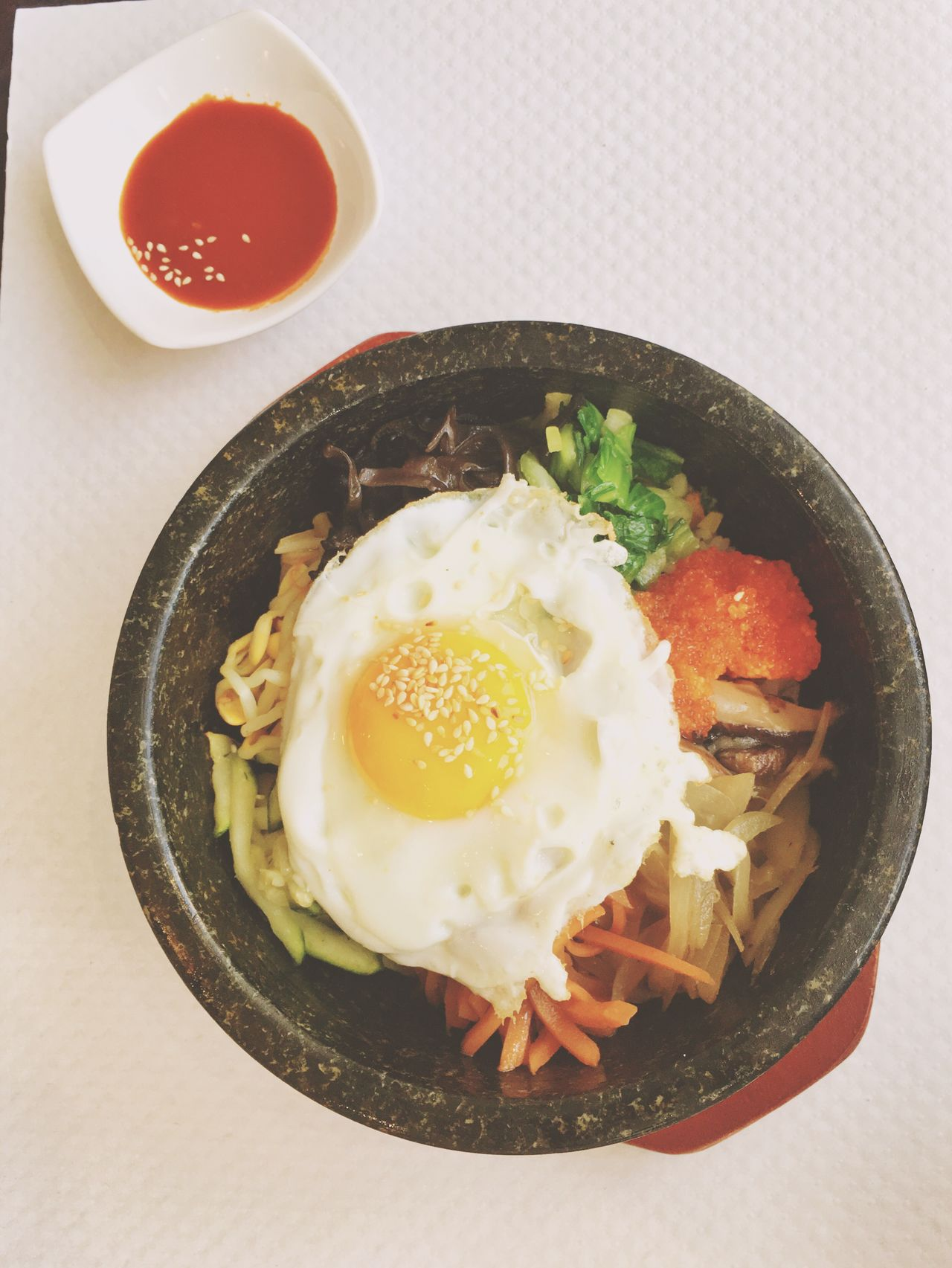 Food Coreanfood Onthetable Bibimbap😋 Enjoying A Meal Yummy Foodphotography Street Food Worldwide Delicious Lunch Time! Lunch Eating Out Korean Food Korea What's For Dinner?