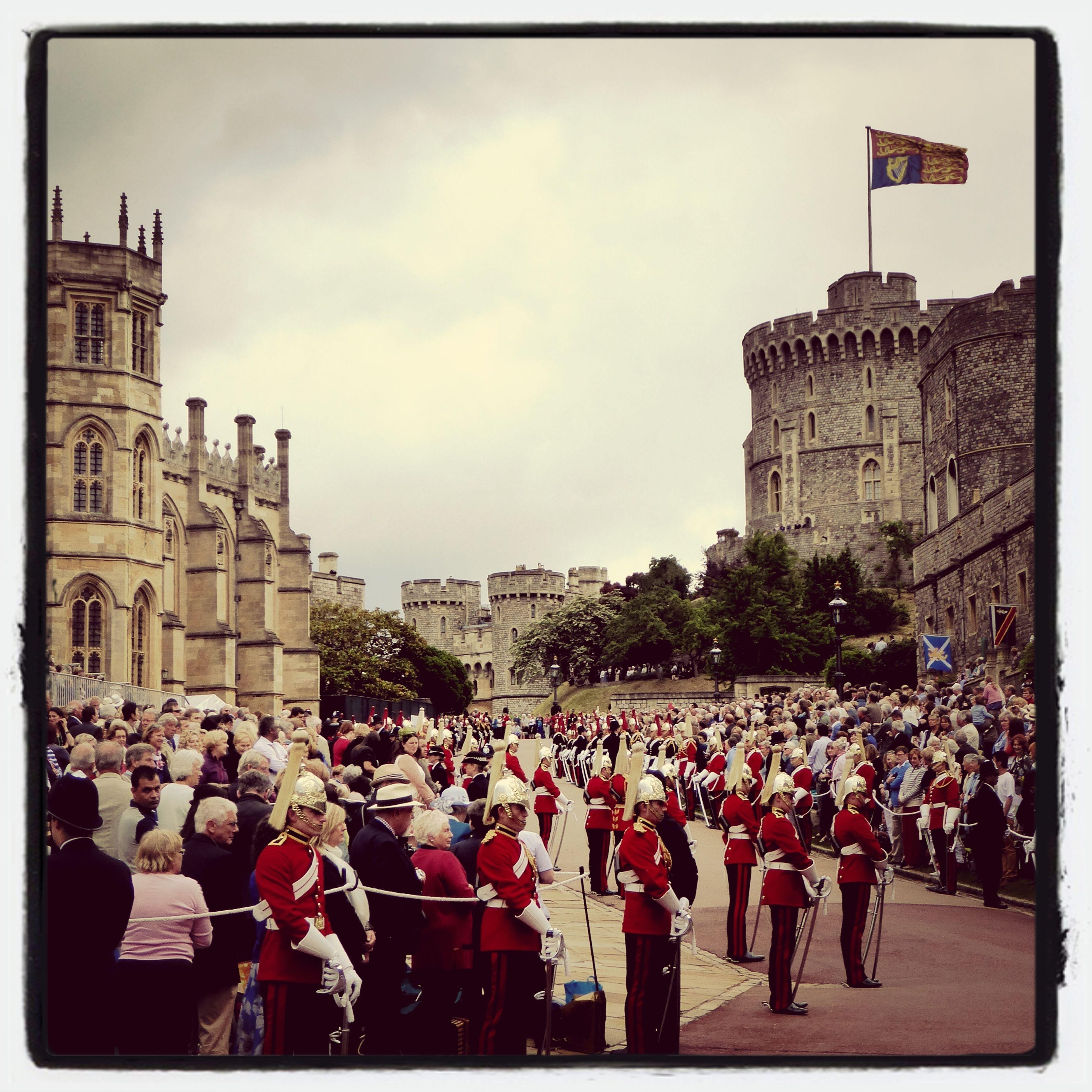 Windsor Castle St George's Chapel Order Of The Garter ceremony, June 2014