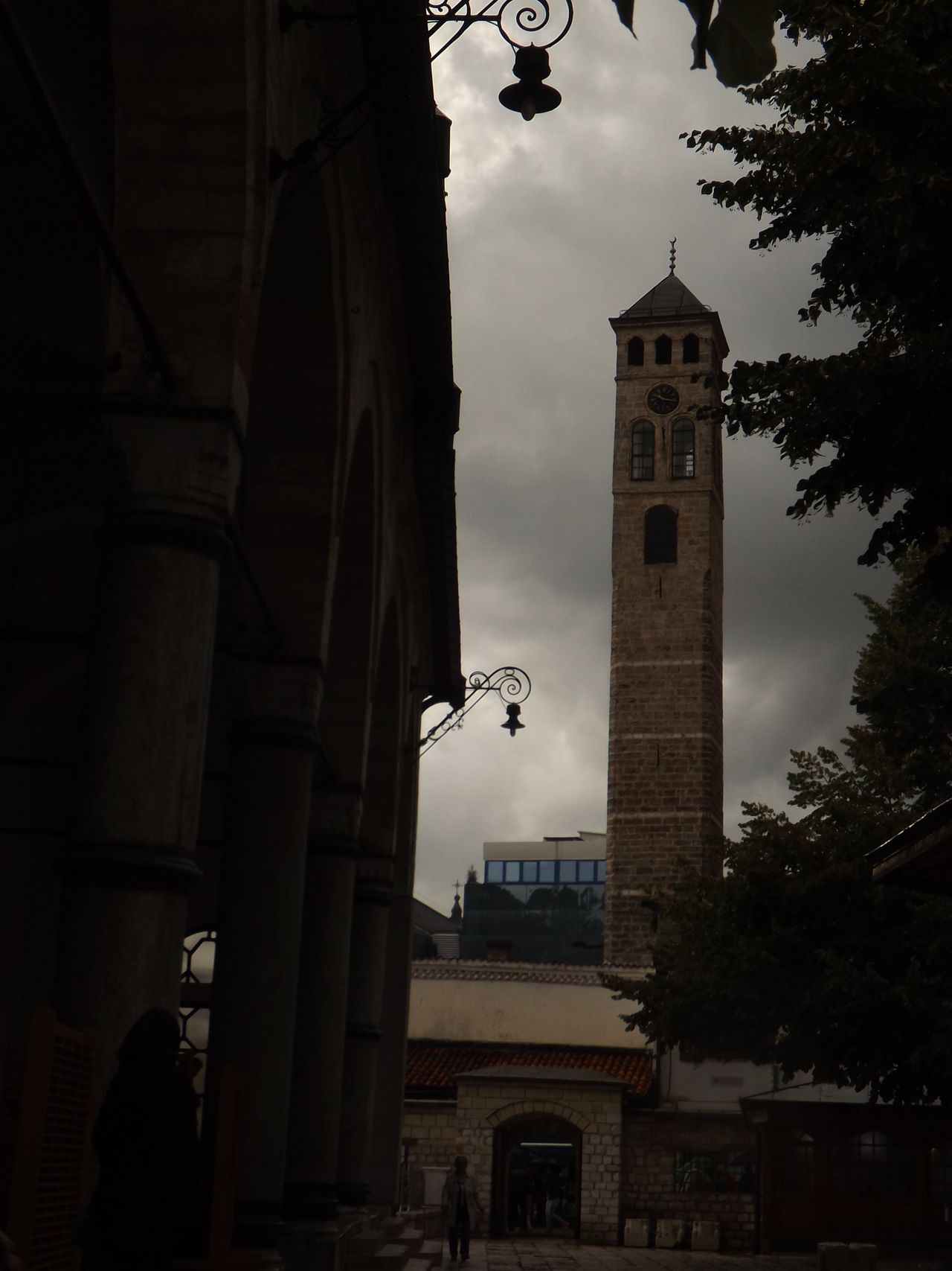 Architecture Built Structure Clock Tower Cloud - Sky History Medieval Meeting Of Cultures In A Great Waiting Room Hoping To Have Great Time Sarajevo Tall - High Tourism Tower Travel Destinations