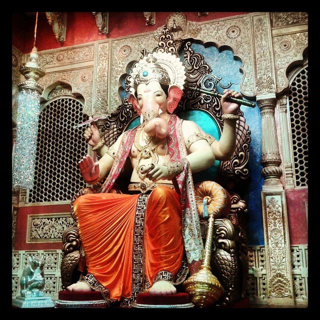 LalbaugchaRaja Mumbaiking Famous Madness Instamumbai Instaclick