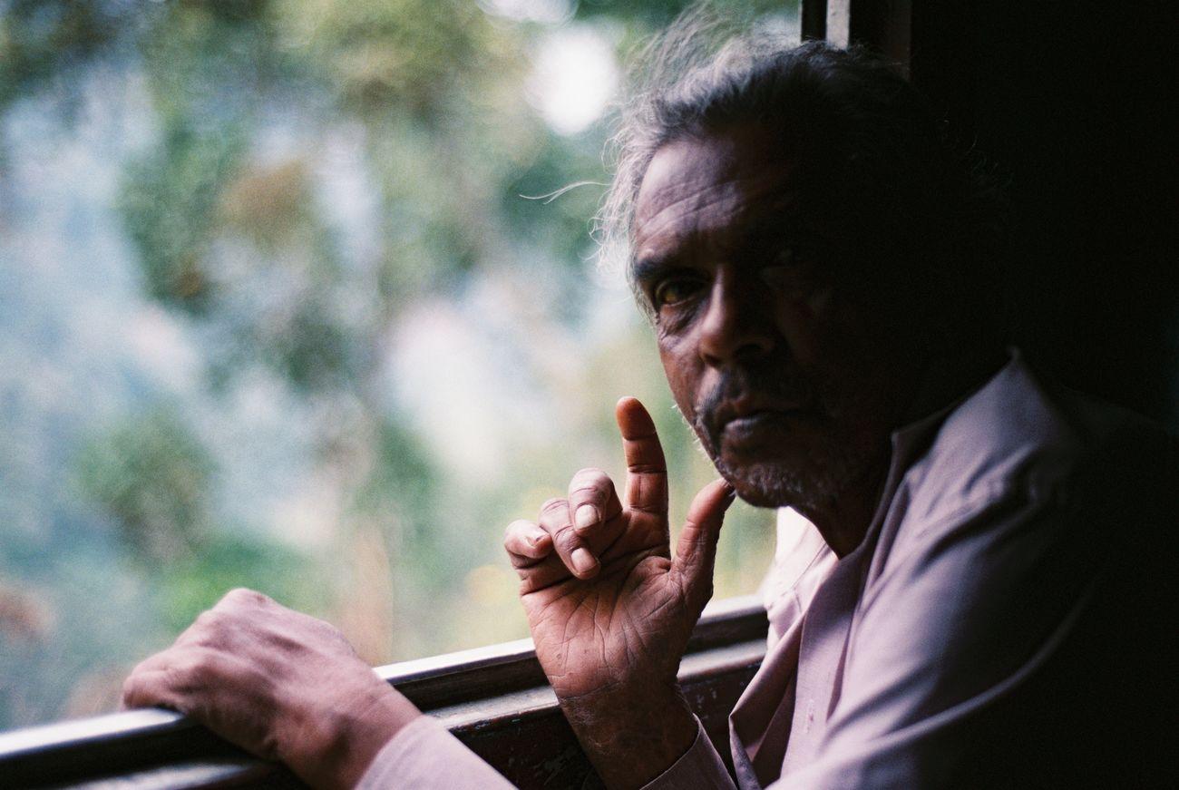Snap A Stranger On The Train Stranger Film Film Photography Sri Lanka Men Close-up