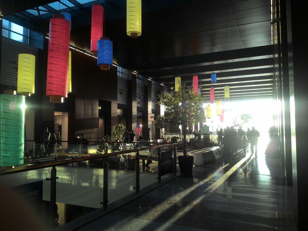 Alışveriş Shopping Mall Cityshapes Silhouette Insanlar Gölgeler Shadows ColorsBursa / Turkey anatolium