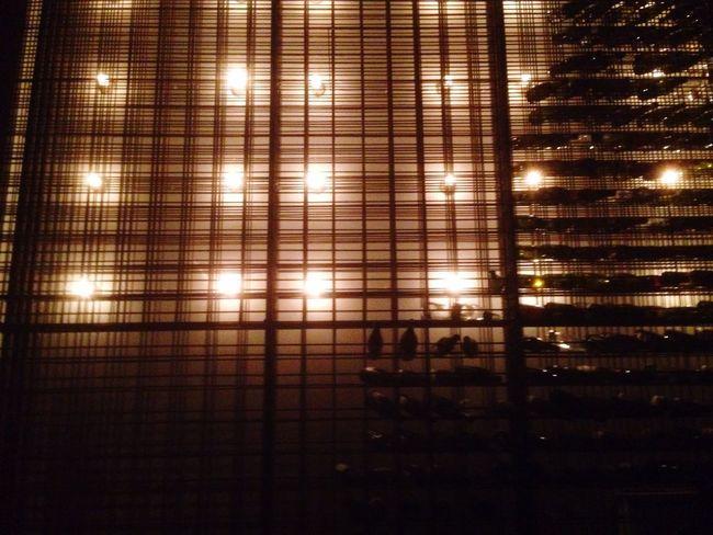 Great Atmosphere Eating Wine Light Grid