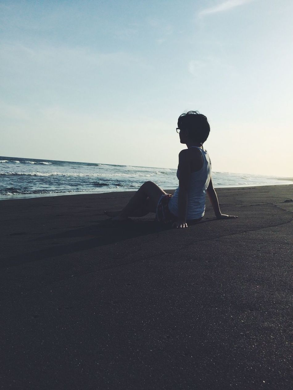 Beautiful stock photos of peaceful,  18-19 Years,  Adult,  Beach,  Beauty In Nature