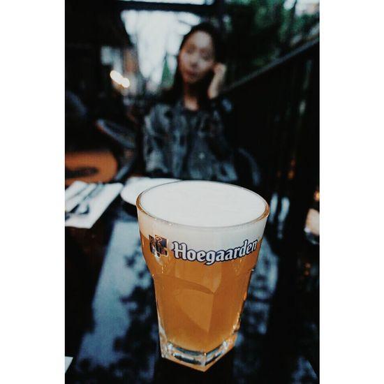 키야? Drinking Beer