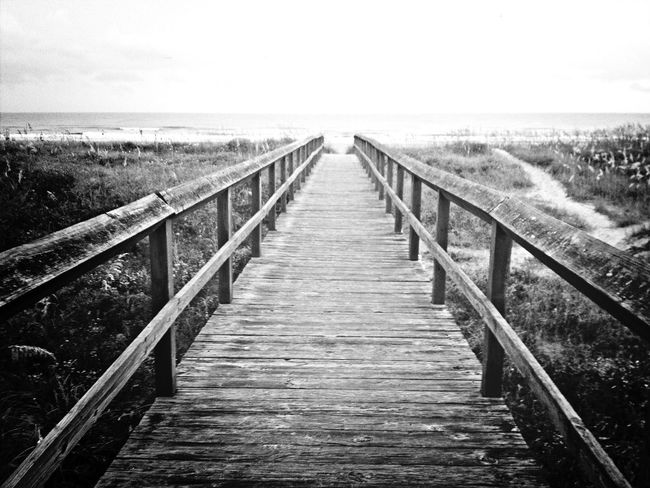 gratuitous beach walkway shot! EyeEm Best Shots Eye4photography  EyeEm EyeEm Best Shots - Black + White