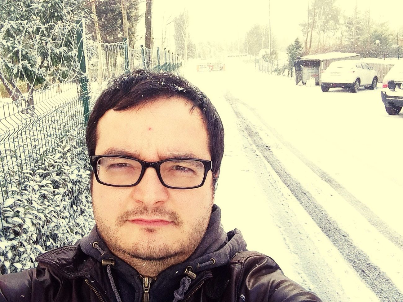 NewYear Snowing Uglyman Cold Wheather Ice