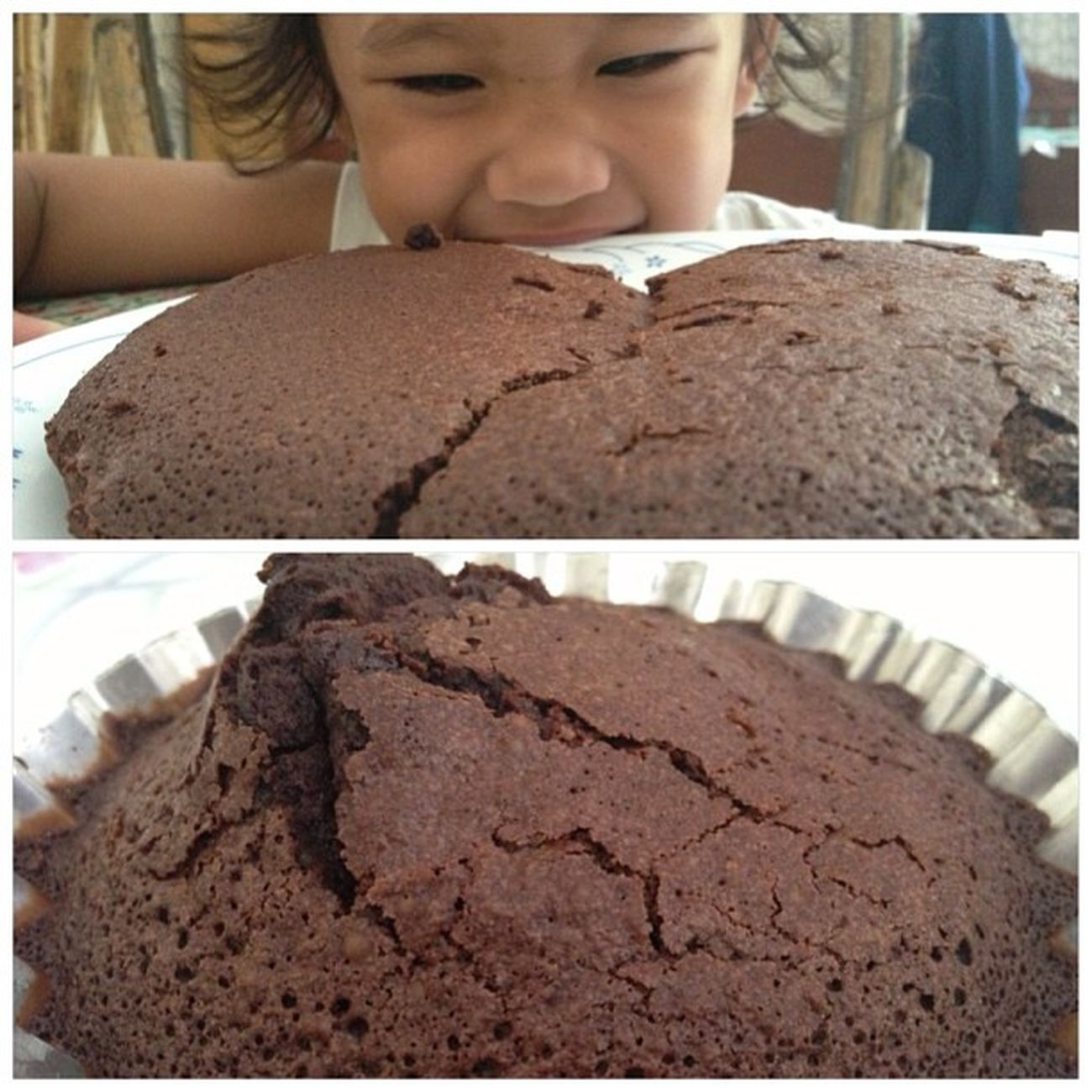 That smile... Brownie Eruption.