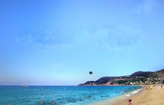 Life Is A Beach Beach Life Fun In The Sun Cleopatra Beach Alanya/Turkey Conservative Photography Blue Water Blue Sky Waterscape Beachday Holiday Showcase July