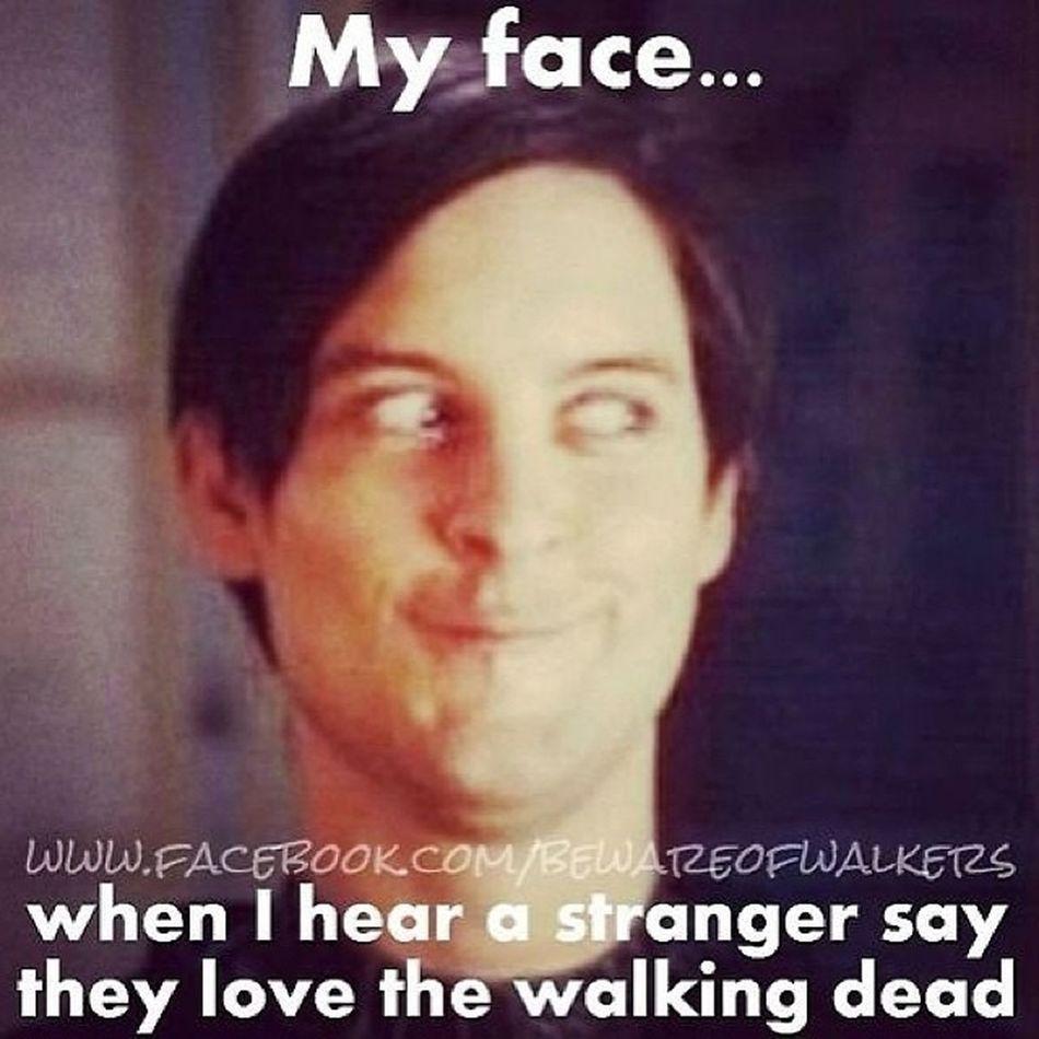 Haha truuu @sareed94 Walkingdead Feb9 Sorrymom ;)