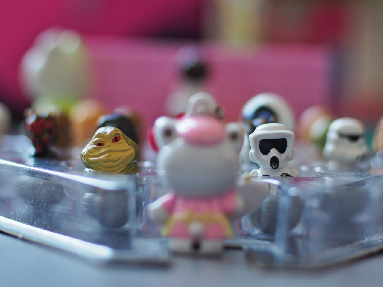 teacher in space Space Star Wars Classroom Teachers Drone  Bokeh Blurred Background Sfocato Hello Kitty Jabba Scouttrooper Chewbacca Darthvader Darth Maul Boba Fett Obi Wan Kenobi SpaceShip Close-up Plastic