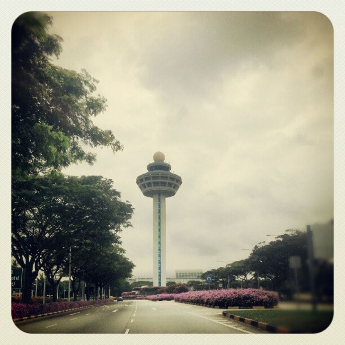 Changi airport iconic control tower Singapore Airport Sg Sgig Controltower