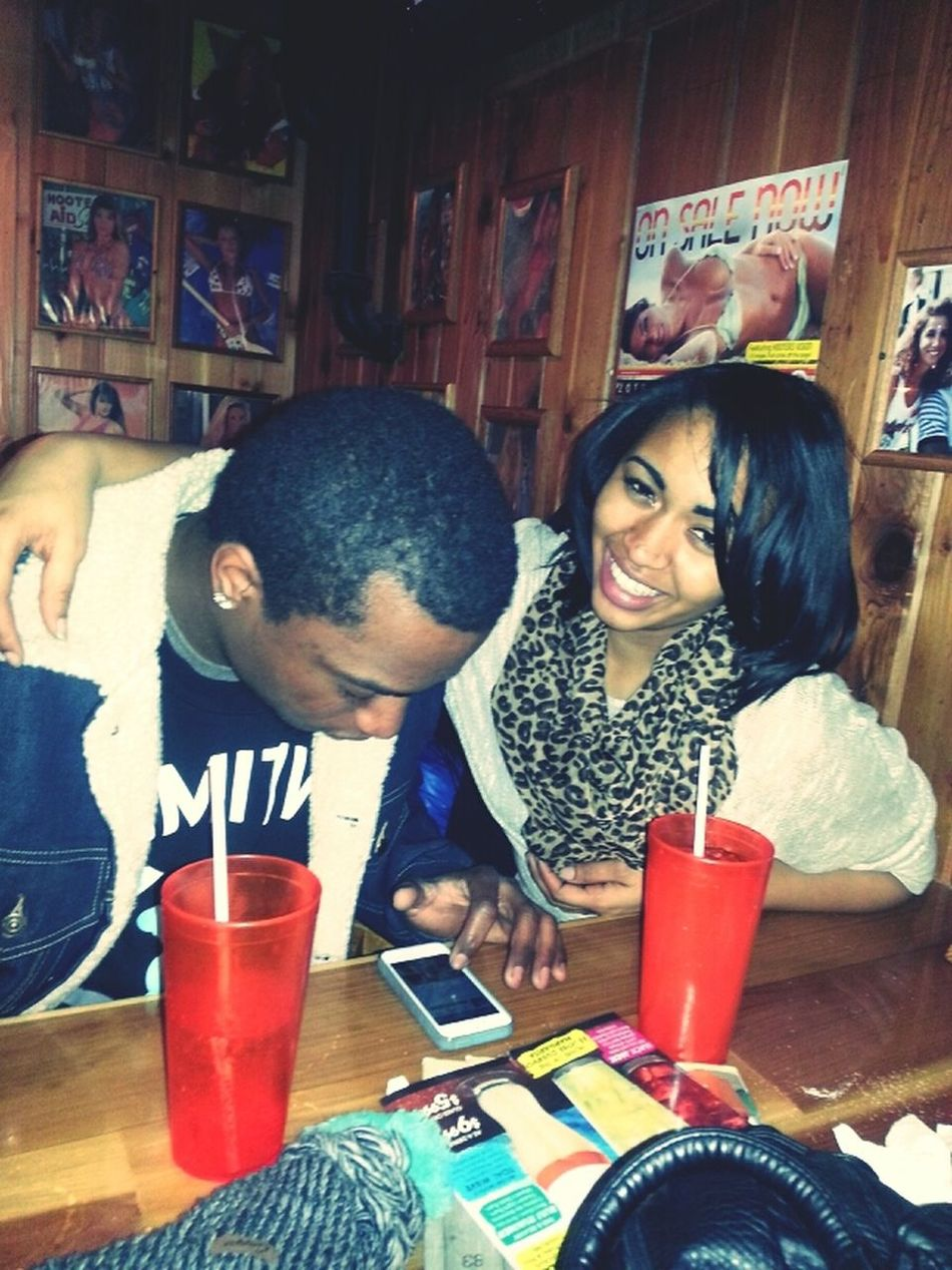 out to dinner with my bro and sister the other day