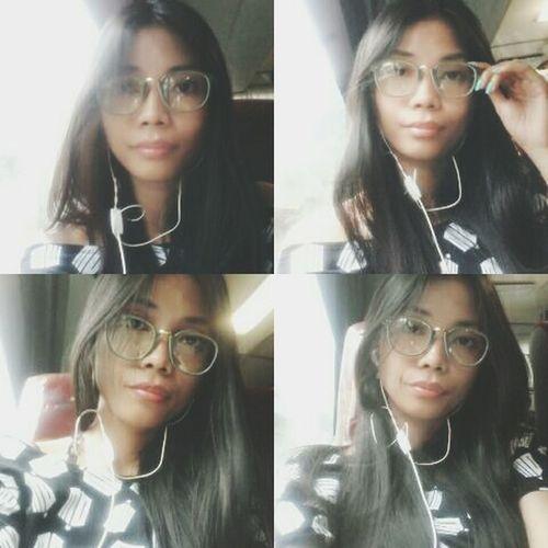 Hi! That's Me Wearing Glasses Cute Simplicity Simply Me Simple Beauty KAWAII Smart Simplicity Pretty