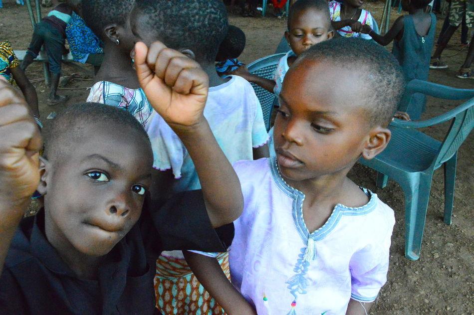Africa African Child Childhood Dance Togo