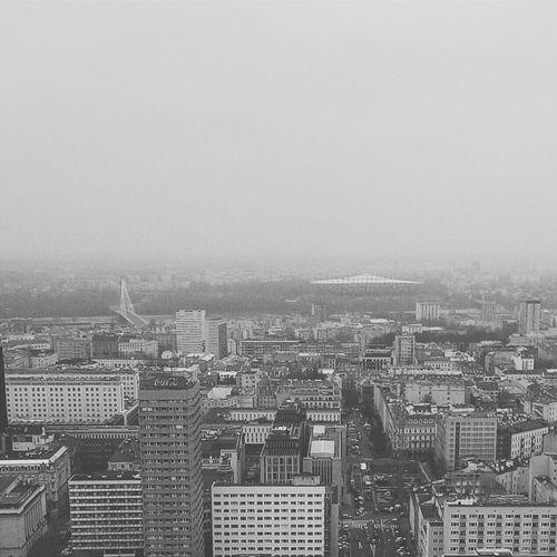 Foggy Warsaw