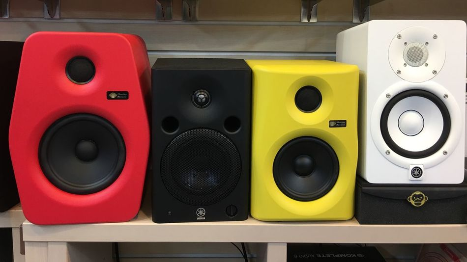 Music Speaker Close-up Noise Arts Culture And Entertainment Shape Sound Recording Equipment No People Indoors  Stereo Technology Day