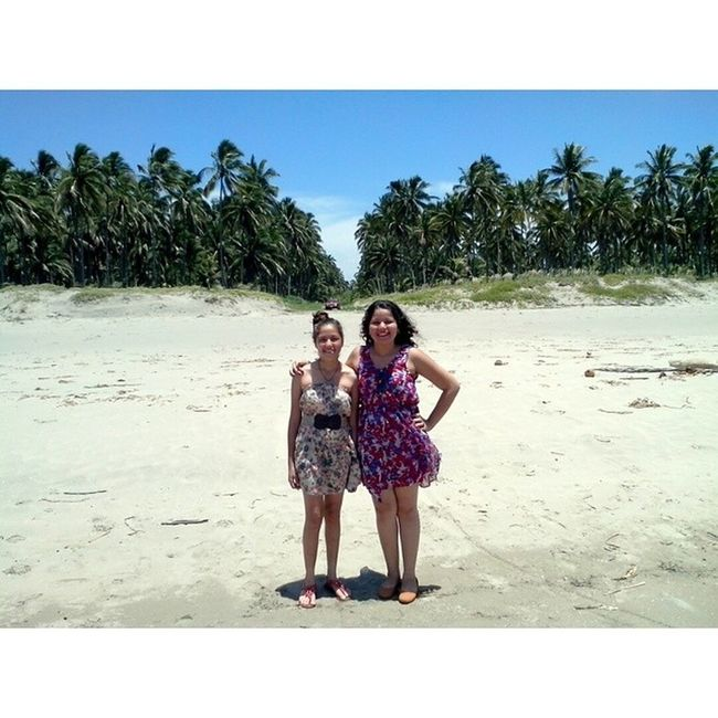 Domingo de paz. Sinfiltro GolfoDeMexico Playavirgen Hermanas Sunny Shalom .