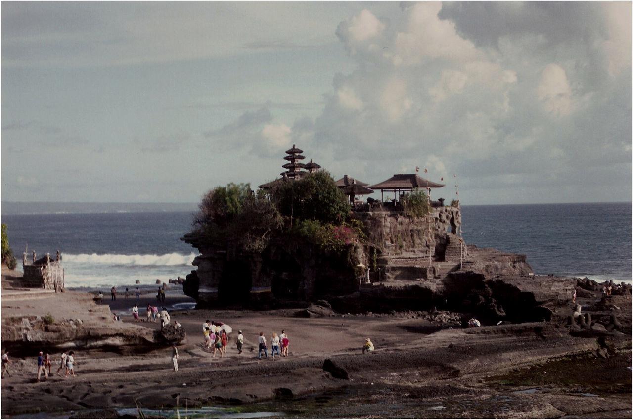 Architecture Built Structure Cloud - Sky Sea Shore Tanalot Hindu Temple Temple Tourism Tourist Travel Destinations