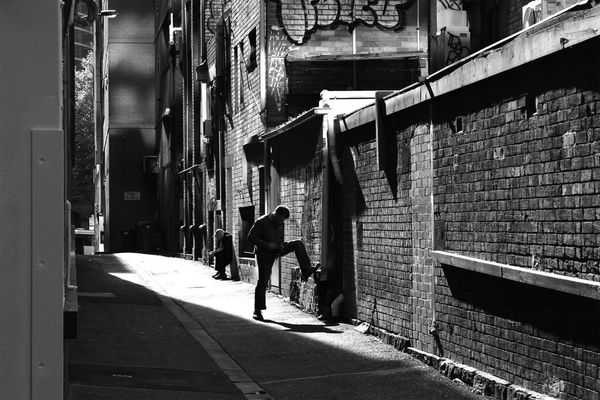 streetphotography in melbourne by Jim McDonagh