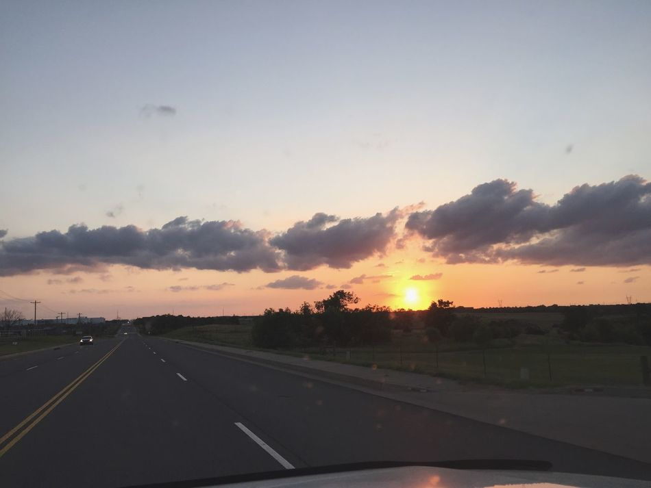 I often just drive Sunset Okieland
